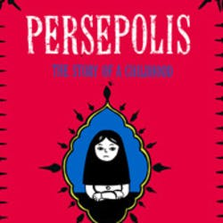 Cover for Persepolis
